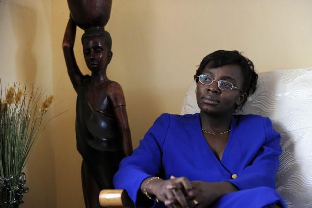 Victoire Ingabire, l'opposante au régime de Paul Kagame.... (Photo: archives AFP)