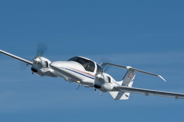 un avion diesel