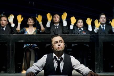 Marc Béland et la troupe de Et Vian!... (Photo fournie)