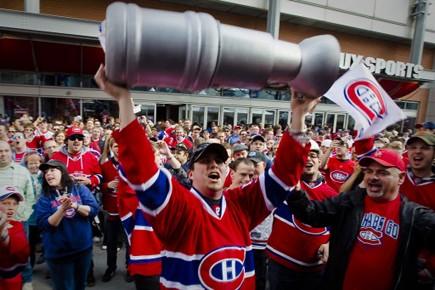 Le «septième joueur» pourra-t-il galvaniser le Canadien autant... (Photo: André Pichette, La Presse)