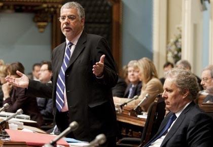 Le ministre de la Sécurité publique du Québec,... (Photo: Jacques Boissinot, archives pc)