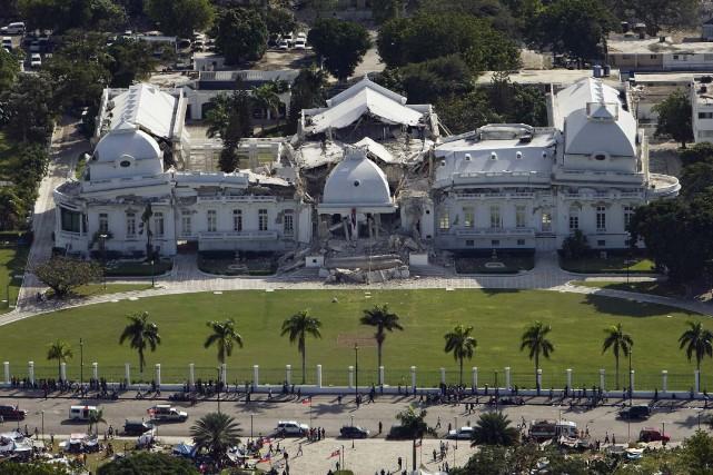 Ce n'est pas d'un nouveau palais national que... (PHOTO: LOGAN ABASSI, ARCHIVES REUTERS)