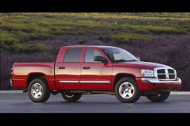 Le Dodge Dakota Quad Cab 2005.... (Photo fournie par Chrysler)