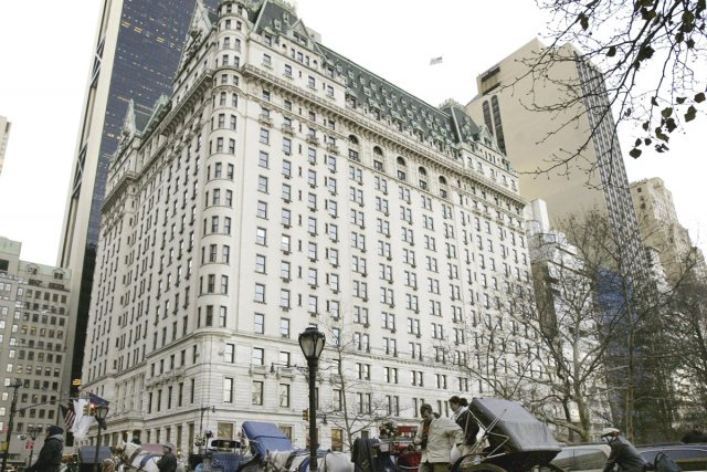 Le Fairmont Plaza de New York... (Photo: AP)