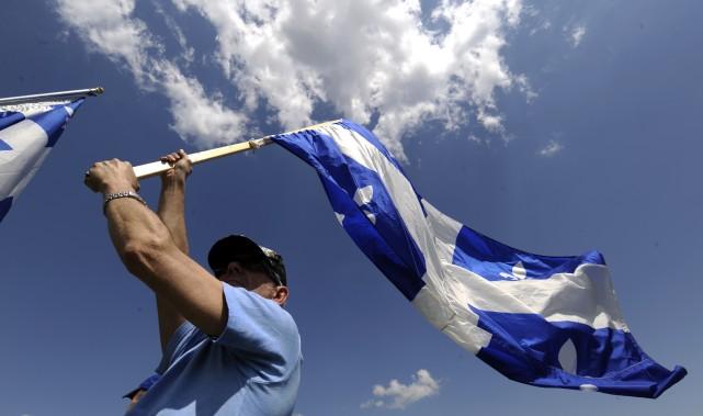 Le débat sur la souverainneté du Québec est-il... (PHOTO: BERNARD BRAULT, ARCHIVES LA PRESSE)