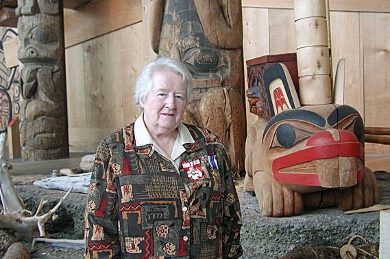 L'historienne Marianna O'Gallagher, lors de la remise de... (Photothèque Le Soleil)