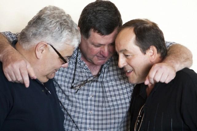 Trois créanciers de l'agence de sécurité BCIA: Guy... (Photo: Martin Tremblay, La Presse)