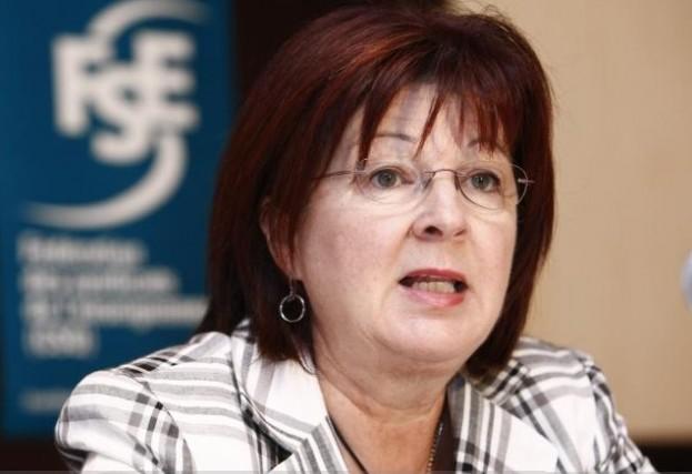 Manon Bernard, présidente de la FSE-CSQ... (Le Soleil, Laetitia Deconinck)