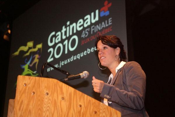 Marie-Hélène St-Onge, directrice générale de Gatineau 2010.... (Archives Le Droit)