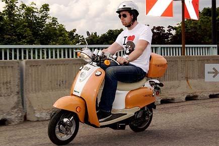 Certains vélos électriques ont l'apparence d'un scooter. Leur... (Photo: fournie par Ecomoto)