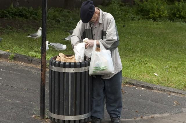Les «déchétariens» mangent sans débourser un sou, en... (Photo: Robert Skinner, Archives La Presse)