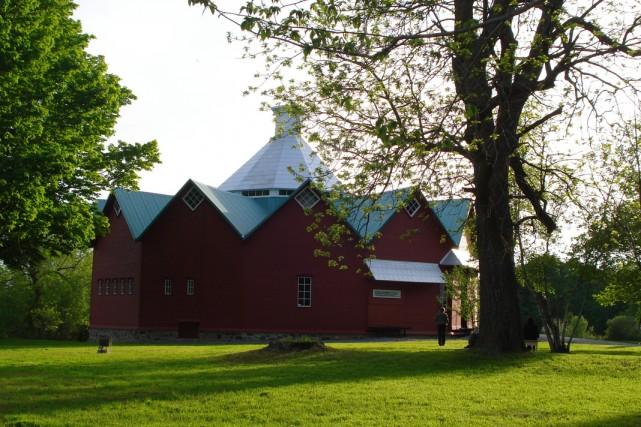 Bien connue dans la région, la grange Wallbridge... (Photo: fournie par Tourisme Canton-de-l'Est)