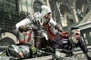 Au fil des années - et des succès... (Photo tirée du jeu Assassins Creed 2)