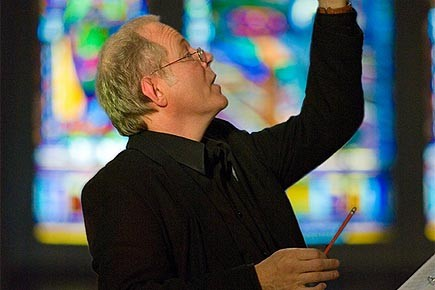 Christopher Jackson dirige jeudi soir le concert d'ouverture...