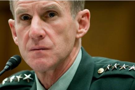 Le général McChrystal aurait déjà remis sa lettre... (Photo: AFP)