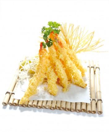 tempura de crevette au coco recette du chef