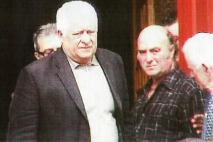 Agostino Cuntrera, photographié en 2006, lors des funérailles...