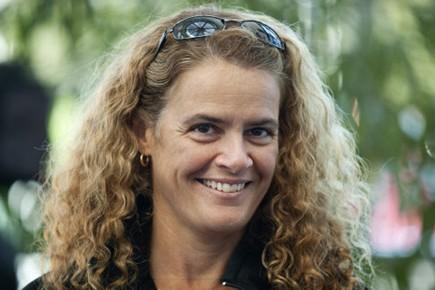 L'atronaute Julie Payette.... (Photo PC)