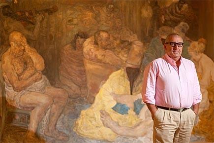 Joe Battat (qu'on voit ici dans sa galerie... (Photo: François Roy, La Presse)