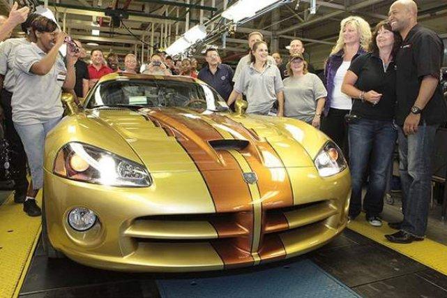 La dernière Viper de première génération est sortie... (Photo fournie par Dodge)