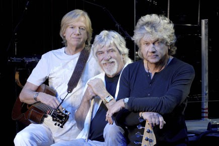 Le trio des Moody Blues: Justin Hayward, Graeme... (Photo fournie par le FIJM)