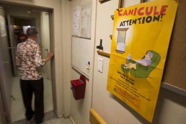 Les aînés qui vivent dans les CHSLD ne... (Photo: André Pichette, La Presse)