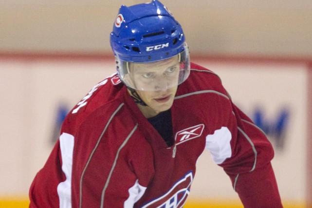 L'attaquant russe Alexander Avtsin a été le choix... (Photo: Alain Roberge, La Presse)