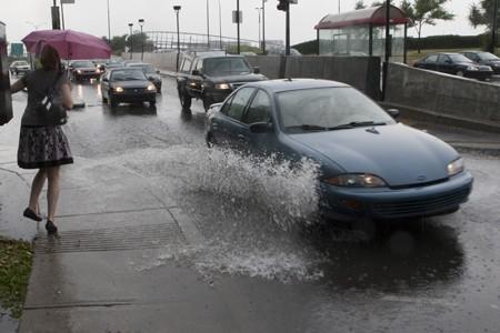 Environnement Canada prévoit des précipitations de 15 à... (Photo: André Pichette, La Presse)
