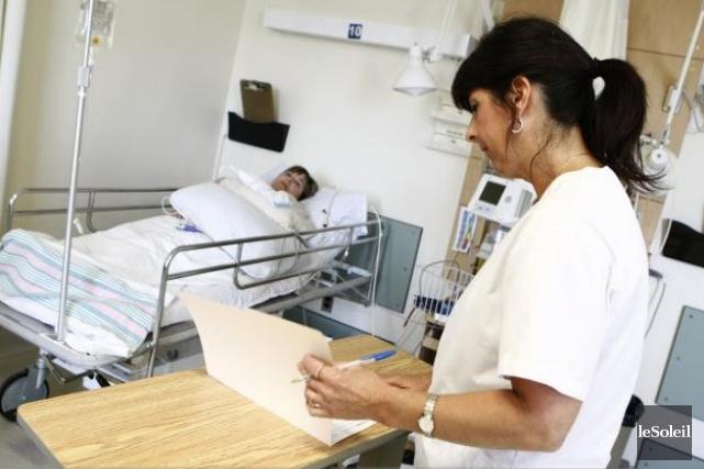 Près de 60 000 infirmières sont déjà à... (Photothèque Le Soleil)
