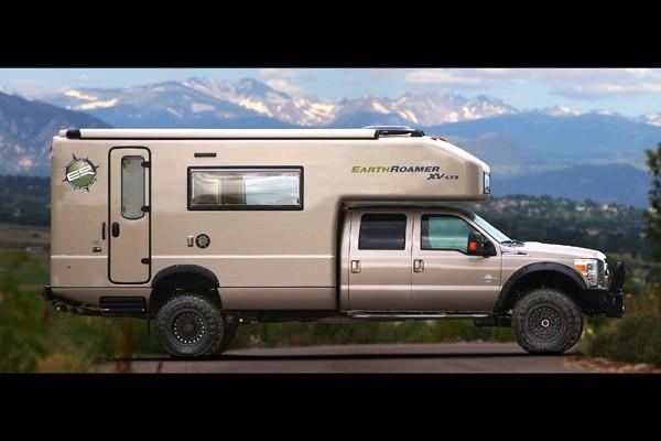 Le véhicule récréatif de luxe EarthRoamer XV-LTS.... (Photo fournie par Earthroamer)