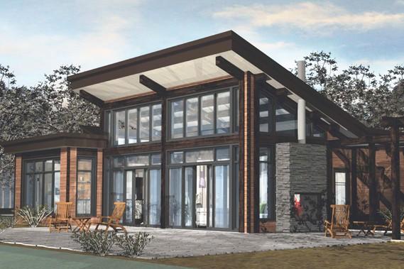 Chalet expo qu bec une nouvelle maison visiter gilles angers immobilier - Plan de maison quebec ...