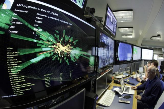 L'accélérateur de particules le plus puissant au monde,... (Photo: Reuters)