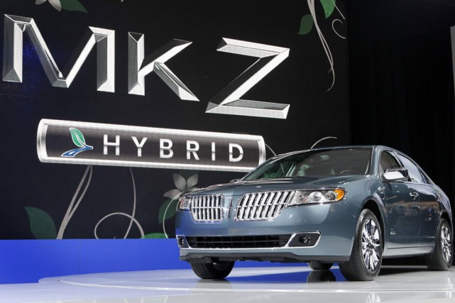 La Lincoln MKZ... (Photo: AP)