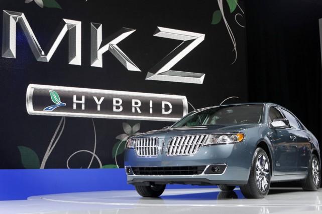 La Lincoln MKZ... (Photo: AP)