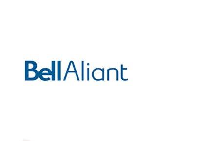 L'entreprise régionale de télécommunications Bell Aliant (T.BA))...