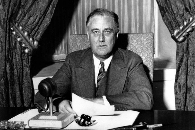Franklin D. Roosevelt, en 1933.... (PHOTO ARCHIVES AFP)