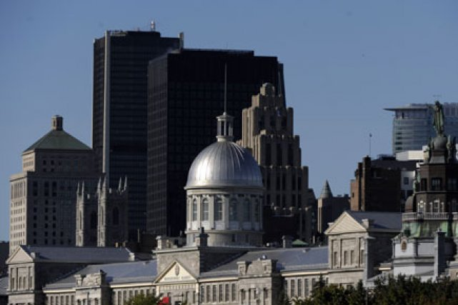 Longtemps négligé, le Vieux-Montréal sort de sa léthargie... (Photo: Bernard Brault, La Presse)