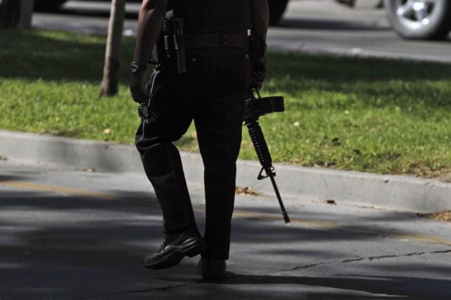 Neuf personnes ont été tuées vendredi matin dans une prison du Guerrero après... (Photo: Archives AP)