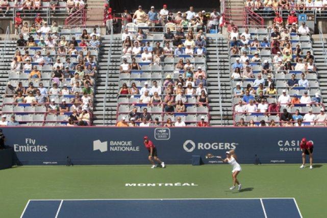 La popularité de la Coupe Rogers s'estompe-t-elle? Si... (Photo: Robert Skinner, La Presse)