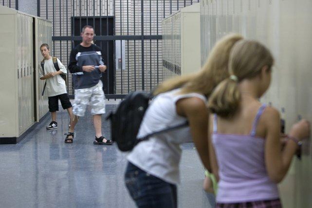 Le passage au secondaire constitue la période la... (Photo: Alain Roberge, La Presse)