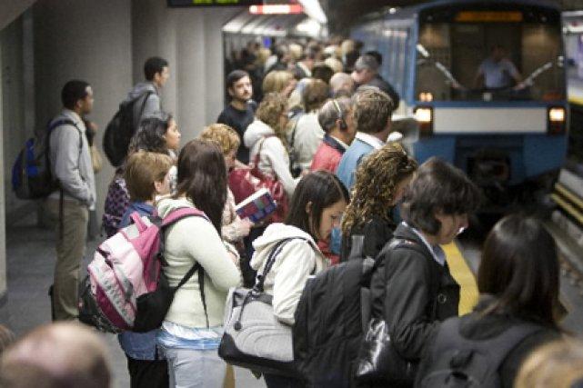 Le refroidissement des wagons aura pour effet de... (Photo: Ivanoh Demers, La Presse)