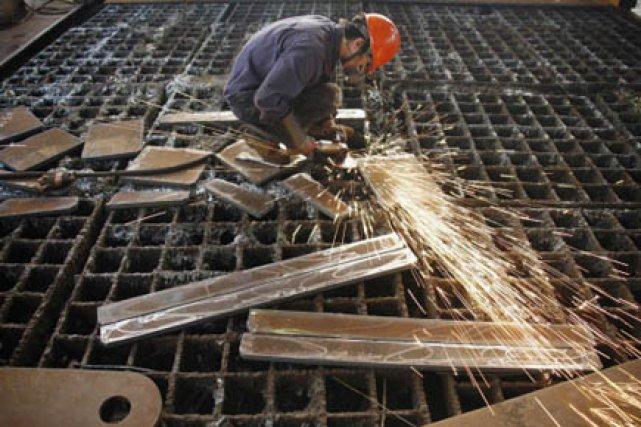 Les dépenses de construction aux États-Unis ont reculé pour le troisième mois... (Photo: Reuters)