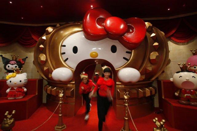 Les gestionnaires du nouveau parc d'attraction attendent plus... (Photo: AP)