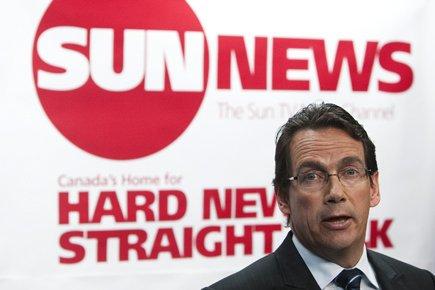 Sun Media, une filiale de Québecor, a annoncé... (Photo: Nathan Denette/PC)