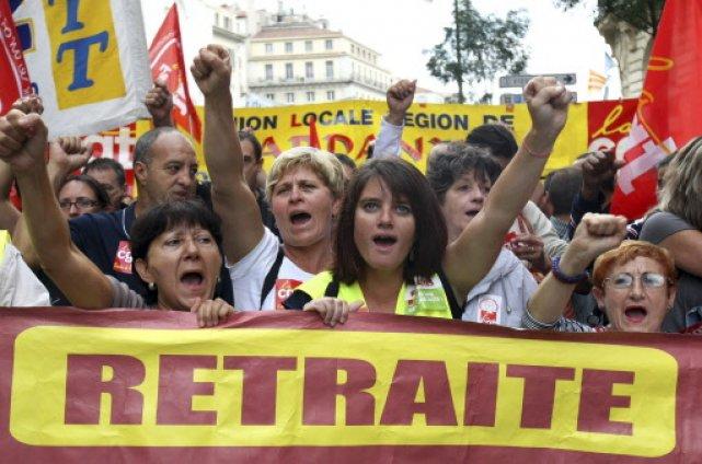 Les manifestations monstres du 7 septembre n'auront pas... (Photo: AP)