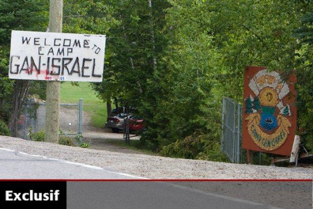 Le camp Gan Israël accueille chaque année de... (Photo: David Boily, archives La Presse)