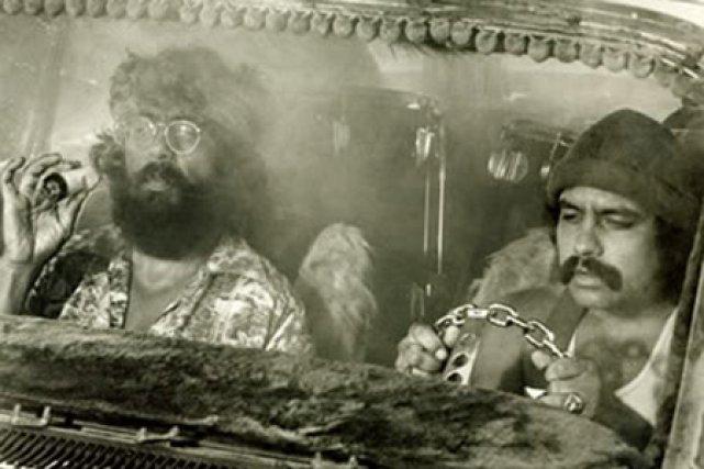 Cheech & Chong, dans Up in Smoke....