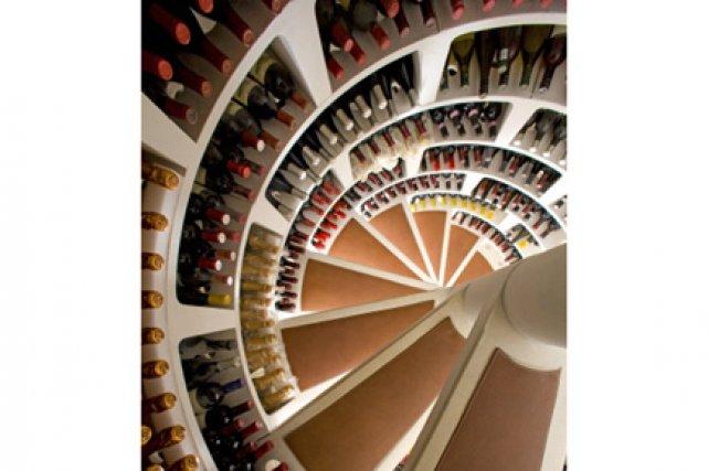 Cave Colimaçon caves à vin en spirale: les chics européennes arrivent   carole