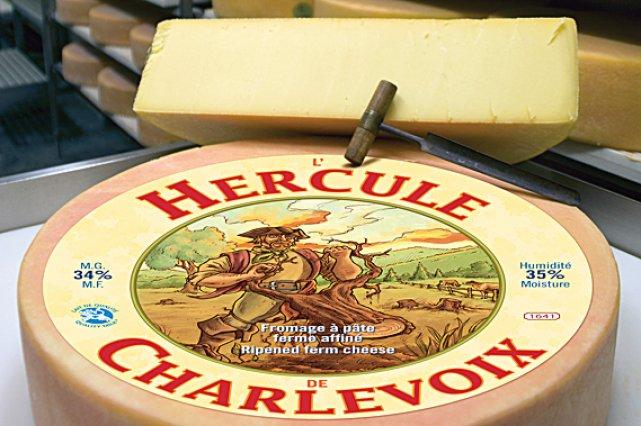 L'Hercule de Charlevoix parmi les meilleurs fromages au... (Robert Benoit, collaboration spéciale)