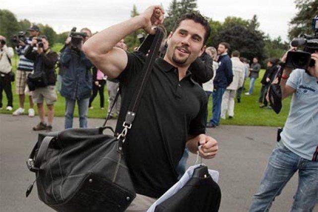 Brian Gionta à son arrivée au tournoi de... (Photo: Ivanoh Demers, La Presse)